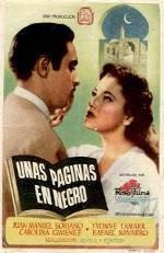 Unas páginas en negro (1949)