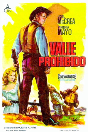 Valle prohibido (1957)