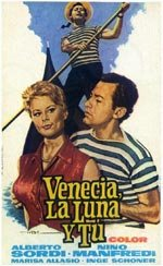 Venecia, la luna y tú (1958)