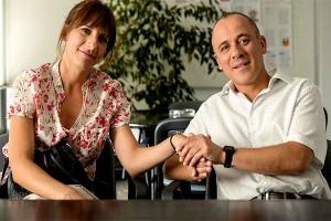 El impresentable y su ingenua esposa