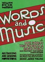 Words and Music (1929)