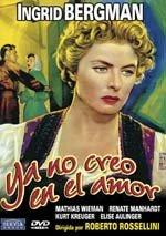 Ya no creo en el amor (1954)