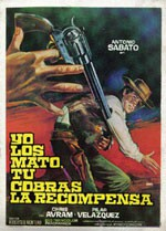 Yo los mato, tú cobras la recompensa  (1972)